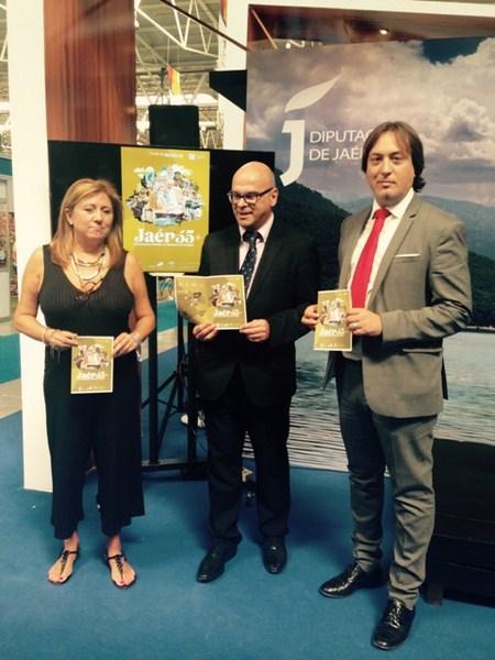"""Diputación de Jaén presenta el paquete turístico """"Jaén 55 Plus"""" en el marco de Tierra Adentro"""