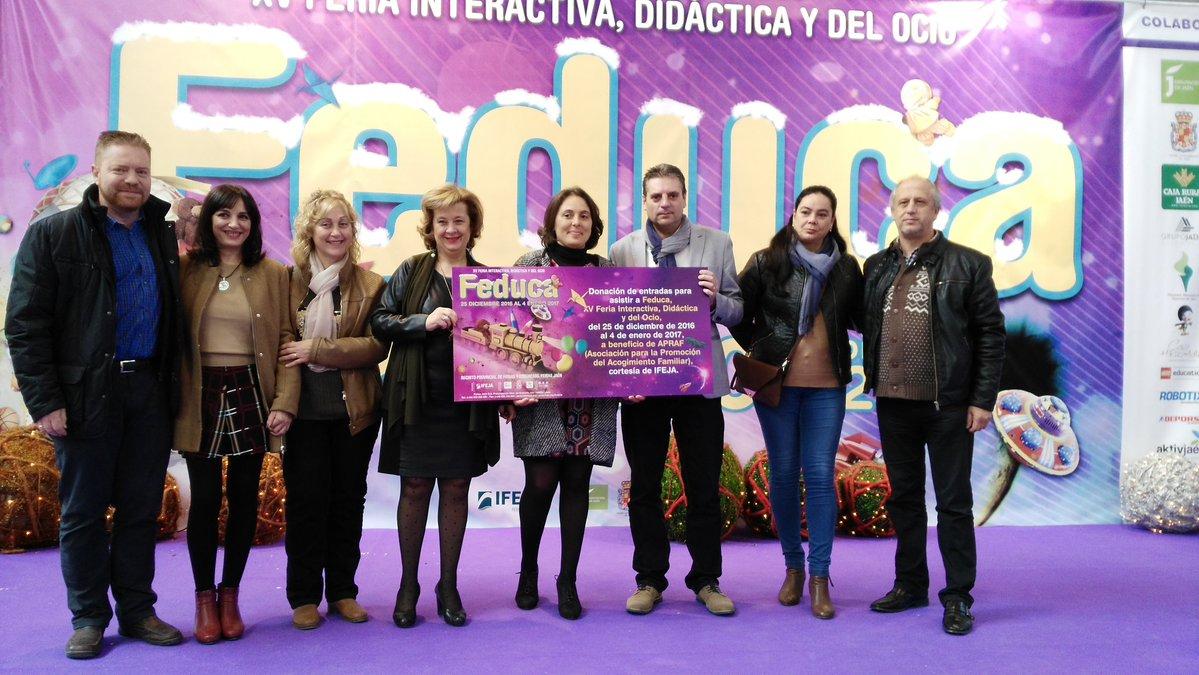 """Feduca realiza una donación de 120 entradas a la Asociación """"Familia Acoge"""" a beneficio de los menor"""