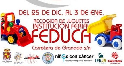 Feduca espera recibir hasta el próximo 3 de enero, más de 400 juguetes y libros que irán destinados
