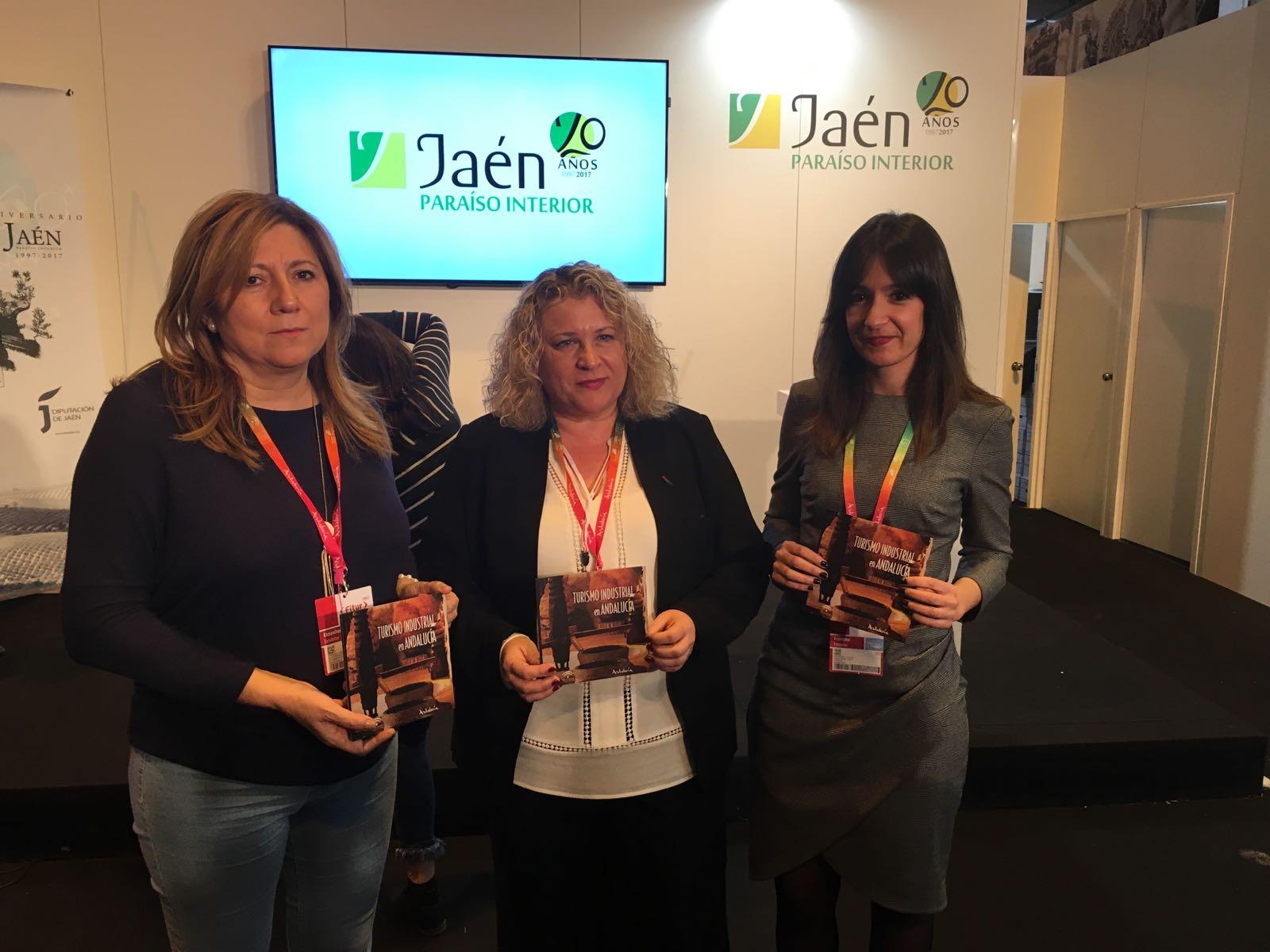 La Junta presenta en Fitur la nueva guía sobre Turismo Industrial de la provincia de Jaén, una de la