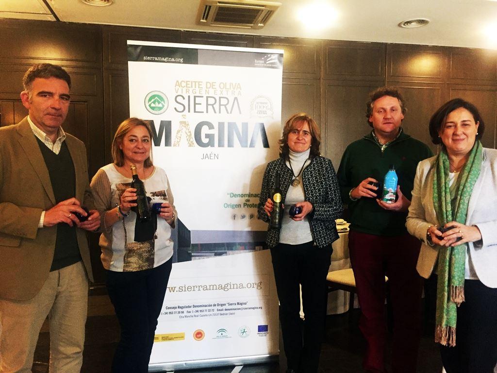 La D.O. Sierra Mágina desvela sus mejores aceites vírgenes extra en un acto celebrado en el Palacio