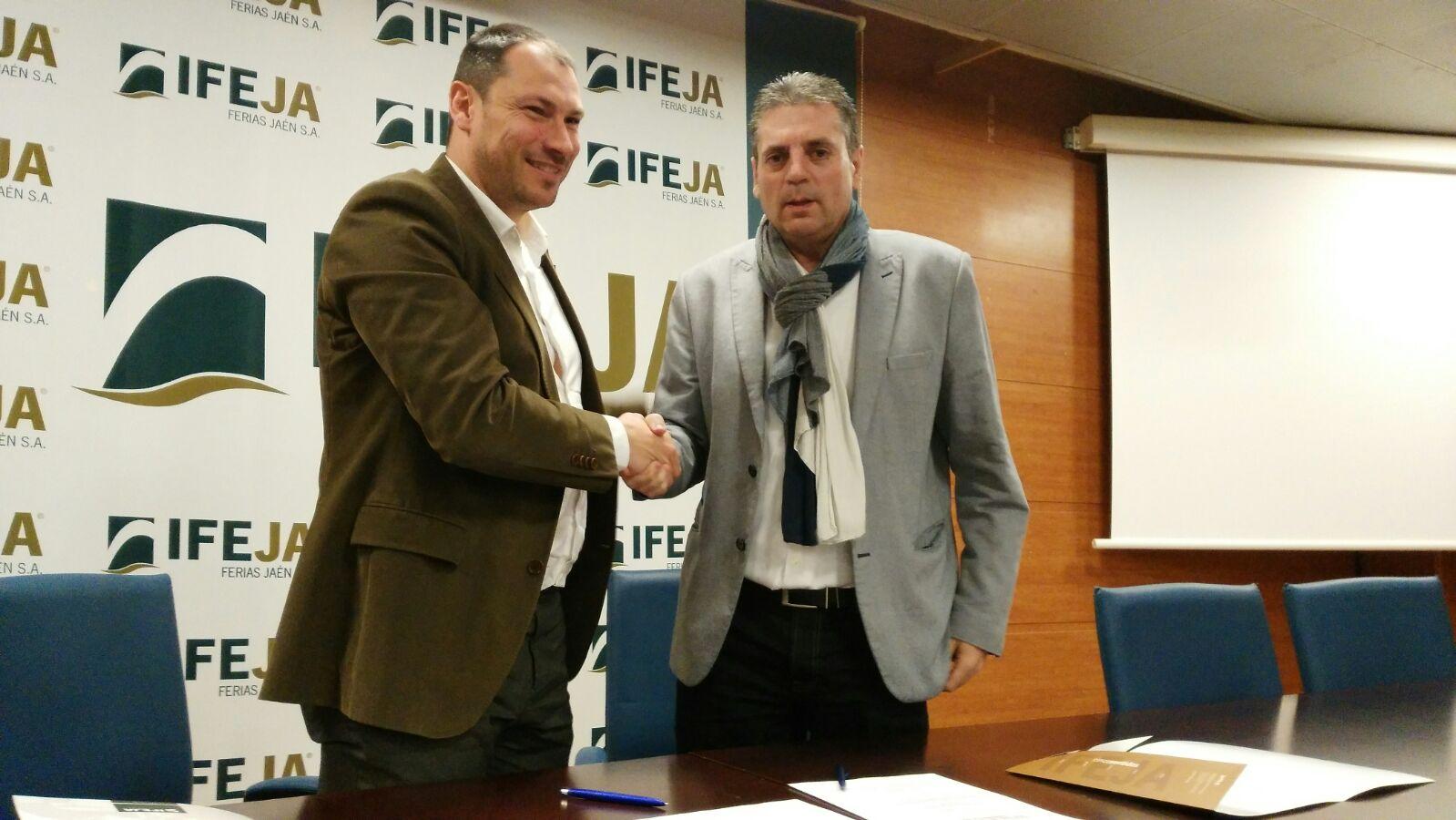 IFEJA renueva el convenio colaboración con la Asociación de Jóvenes Empresarios de Jaén
