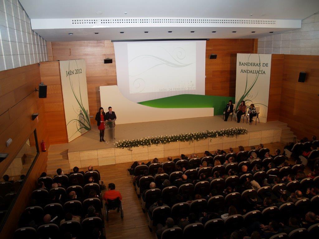 Las Banderas de Andalucía en la provincia se entregan el próximo 24 de febrero en un acto que tendrá