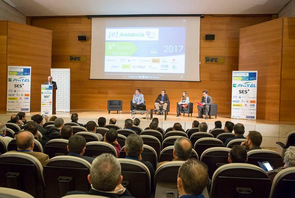 El Palacio de Congresos de Jaén se convierte en el referente de las telecomunicaciones, comunicacion