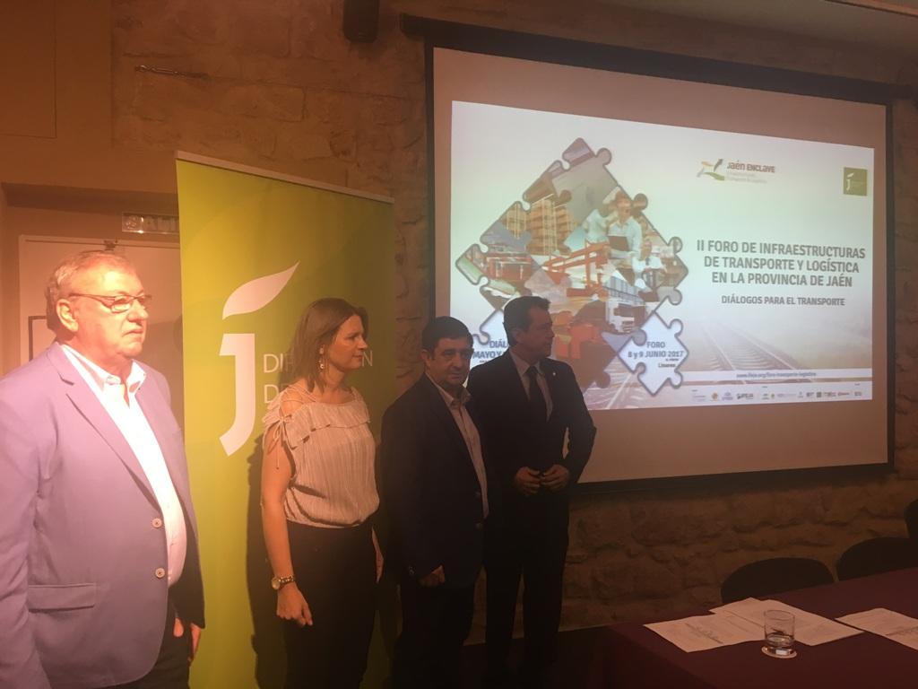 Linares acogerá en junio un foro sobre infraestructuras de transporte y logística como palanca del d