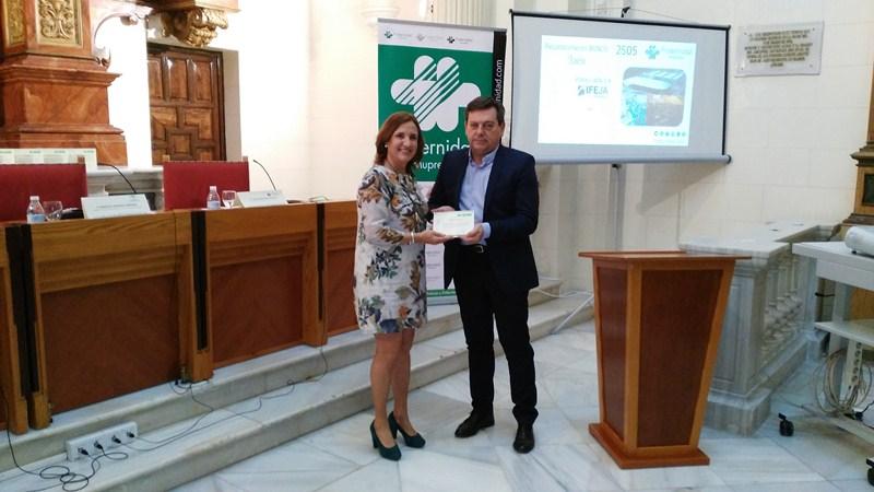 Fraternidad-Muprespa entrega a Ferias Jaén el Bonus 2014 por su compromiso con la prevención de ries