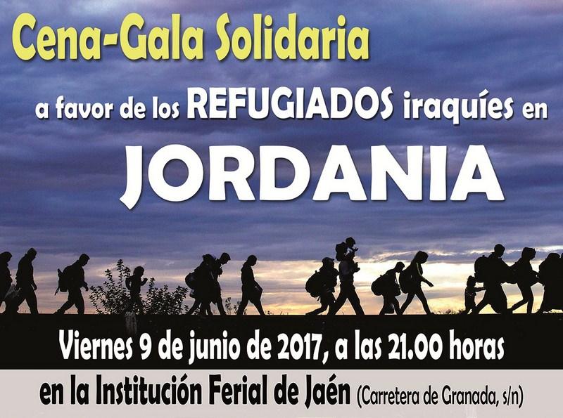 IFEJA colabora un año más en la Cena-Gala Solidaria a favor de los refugiados iraquíes en Jordania