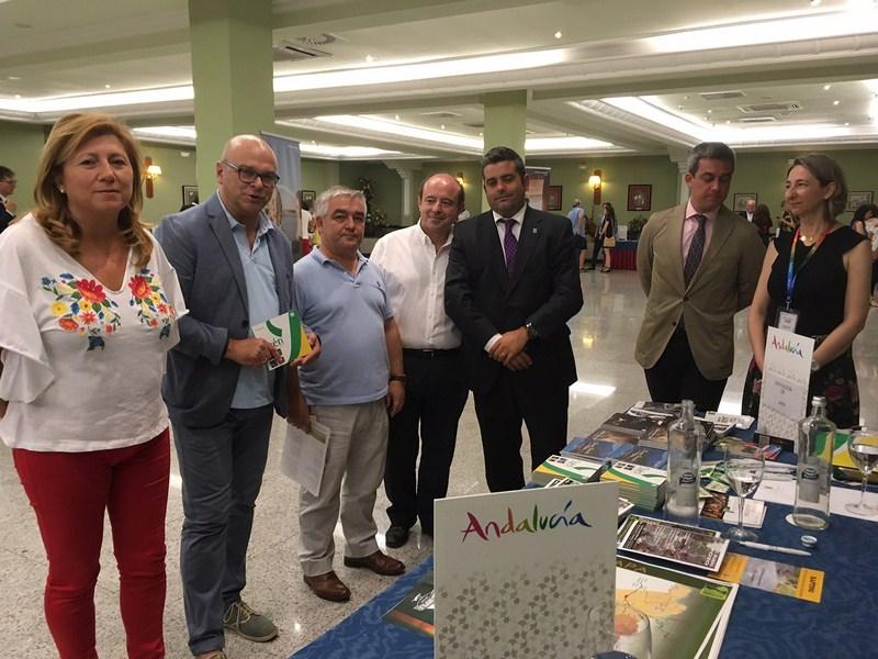 """Gran éxito de la misión comercial """"Andalucía en Andalucía""""  a su paso por Jaén"""