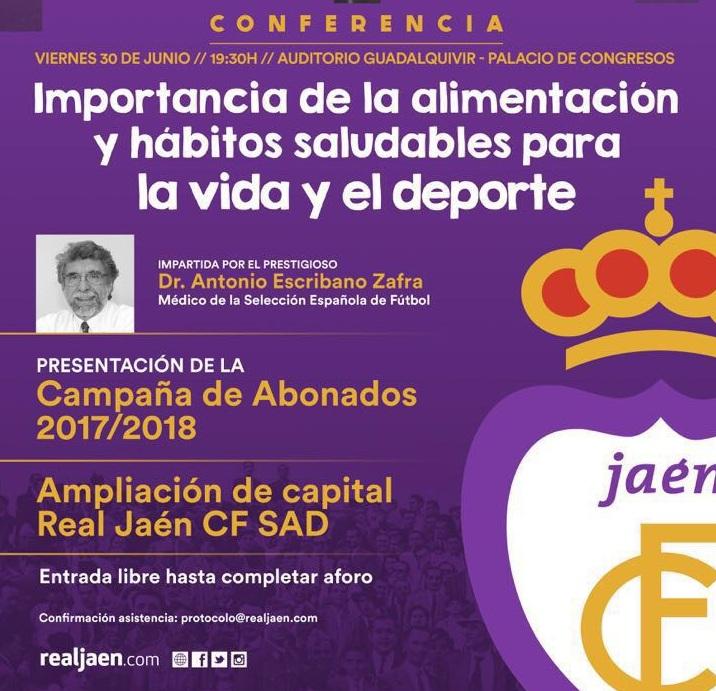 El Palacio de Congresos de Jaén acoge la puesta de largo del nuevo proyecto del Real Jaén CF SAD