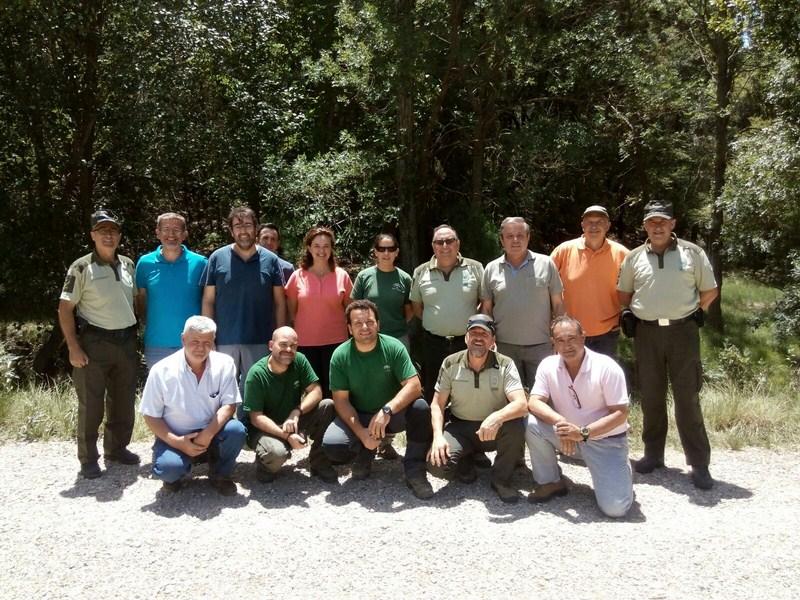 Medio Ambiente libera 5.000 ejemplares de trucha común en el río Guadalentín para su reproducción