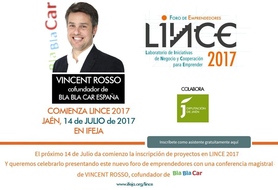 Una conferencia de Vincent Rosso, fundador de BlaBlaCar, abre el periodo de inscripción de proyectos