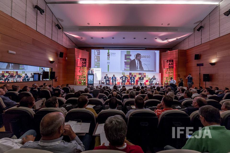 Unos 600 profesionales se reúnen desde hoy en Ifeja en el V Congreso de Cooperativas Agro-alimentari