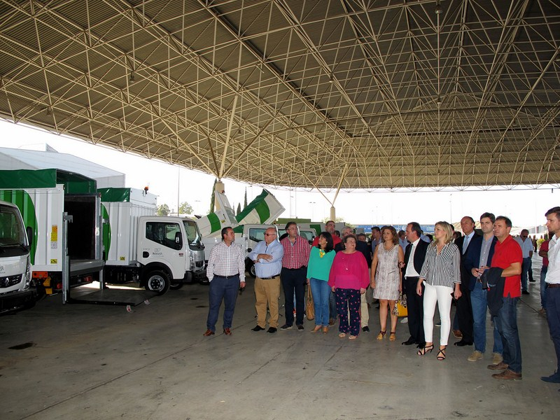 """Pilar Parra presenta en IFEJA la empresa Resurja, """"un sistema modélico"""" para la gestión de residuos"""