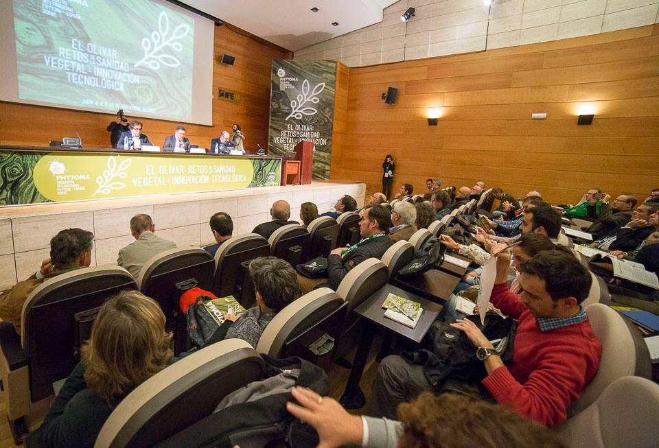 La amenaza de la Xylella Fastidiosa ha protagonizado el Encuentro Científico sobre Sanidad Vegetal q