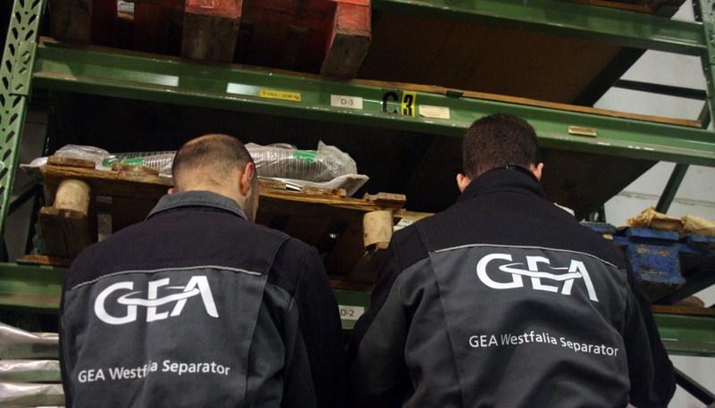 Más de 1.500 acciones de mantenimiento de equipos industriales en 750 líneas de extracción de los ci