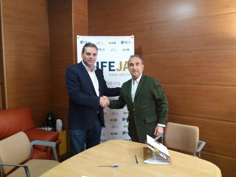 IFEJA y ASPACE Jaén han firmado un convenio de colaboración que facilitará, entre otros, el acceso d