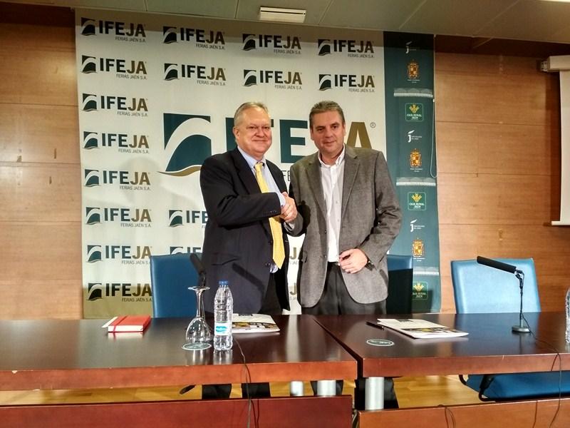 Ferias Jaén firma un convenio con la World Olive Oil Exhibition con el objetivo de ampliar la proyec