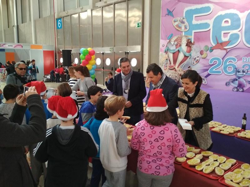 Finaliza la semana dedicada en Feduca a la visita de centros escolares de toda la provincia sin inci