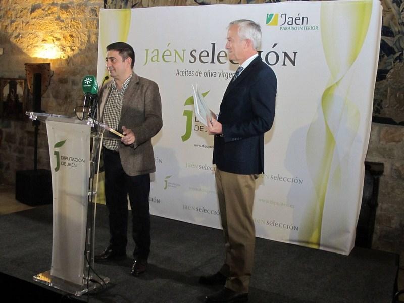 Diputación concede el distintivo Jaén Selección 2018 a los 8 mejores aceites de oliva de esta cosech