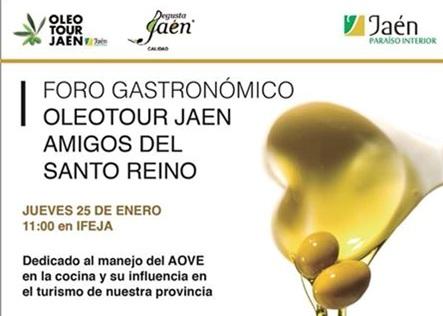 I Foro Gastronómico Jaén Amigos del Santo Reino, novedad en esta edición de sus galardones