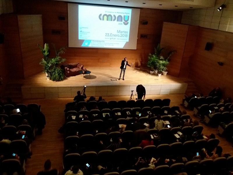 El VI Congreso de Marketing Digital CMDAYJaén celebrado en IFEJA sitúa un año más a Jaén en el mapa