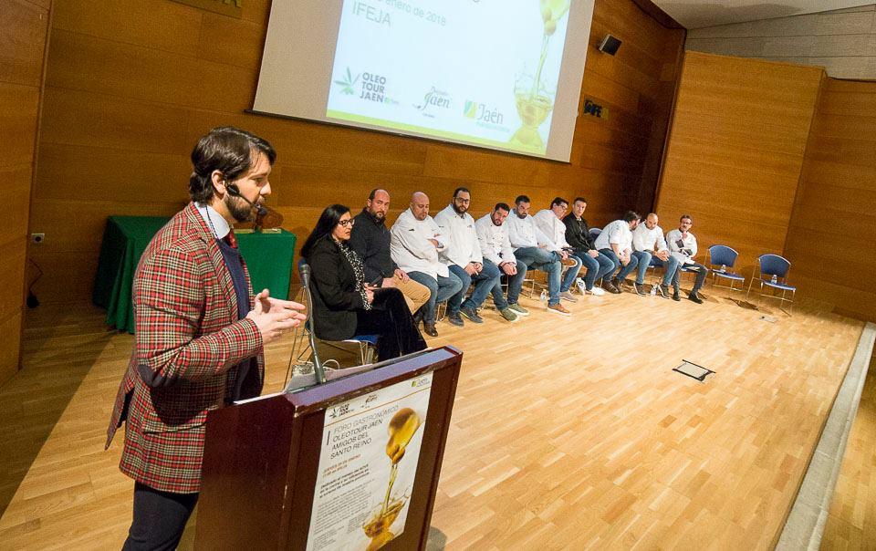 Gran éxito del I Foro Gastronómico Jaén Amigos del Santo Reino, novedad en esta edición de sus galar