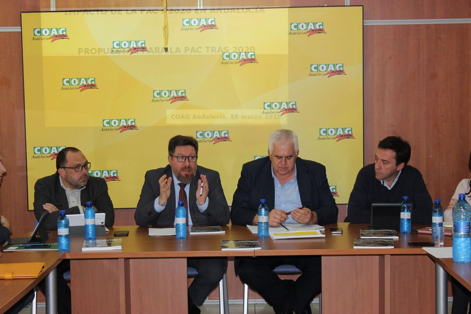 Sánchez Haro se reúne con COAG para conocer sus inquietudes y propuestas ante la reforma de la PAC