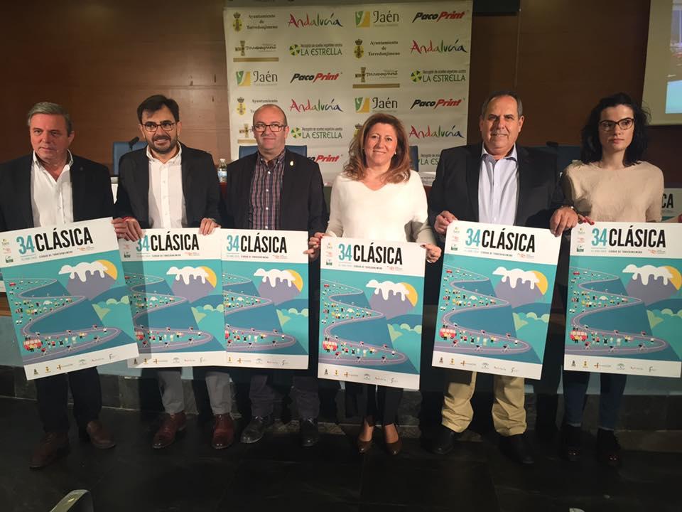 La Clásica Ciudad de Torredonjimeno, que se ha presentado en IFEJA, será por vigésima vez puntuable