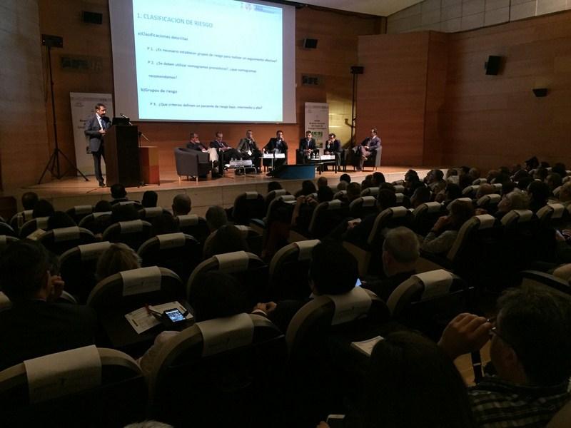 Cerca de 300 profesionales han participado en el Palacio de Congresos de Jaén en la XXXIII Reunión N