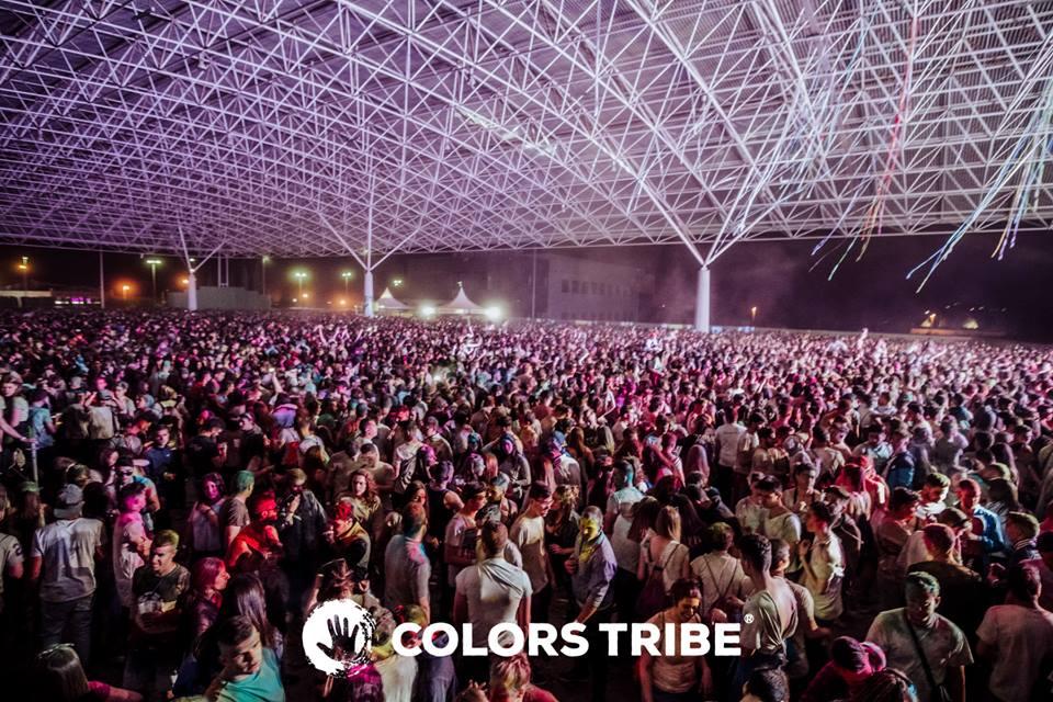 Las instalaciones de IFEJA se convierten de la mano del Colors Tribe Jaén en un mar de luz y color c