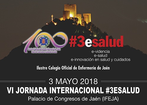 El Colegio de Enfermería organiza la VI Jornada Internacional #3esalud el próximo 3 de mayo en IFEJA