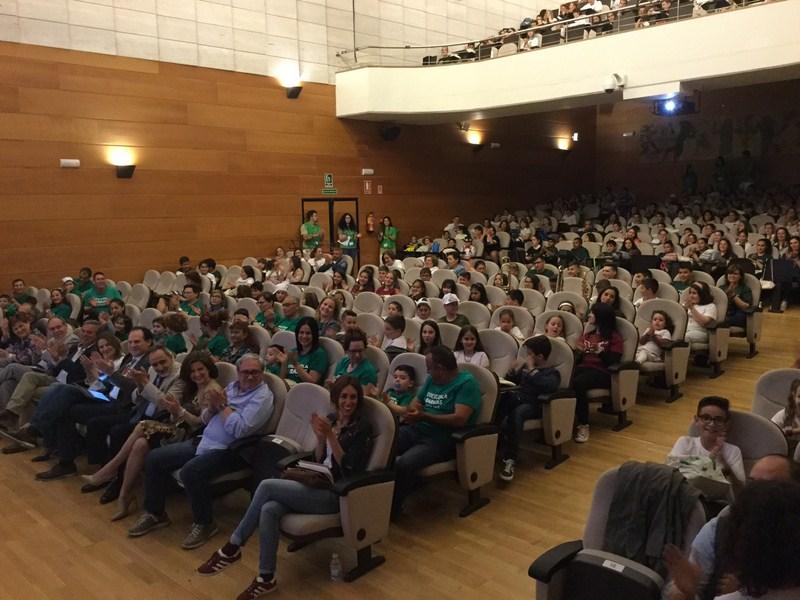 Unos 400 escolares se dan cita en Jaén en la entrega de la Bandera Verde Ecoescuelas a 14 centros an