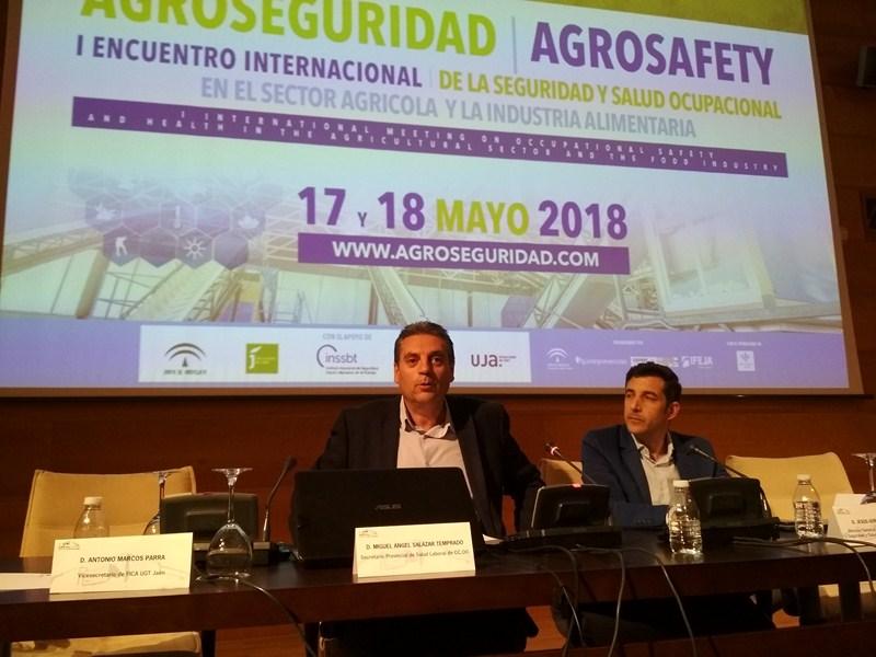 Más de 200 expertos en prevención, seguridad y salud laboral han participado en Agroseguridad 2018