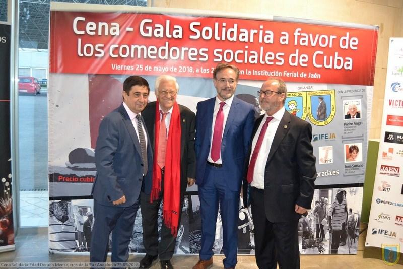 VIII Cena-gala Solidaria Edad Dorada IFEJA acoge la VIII Cena – Gala Solidaria organizada por Edad D