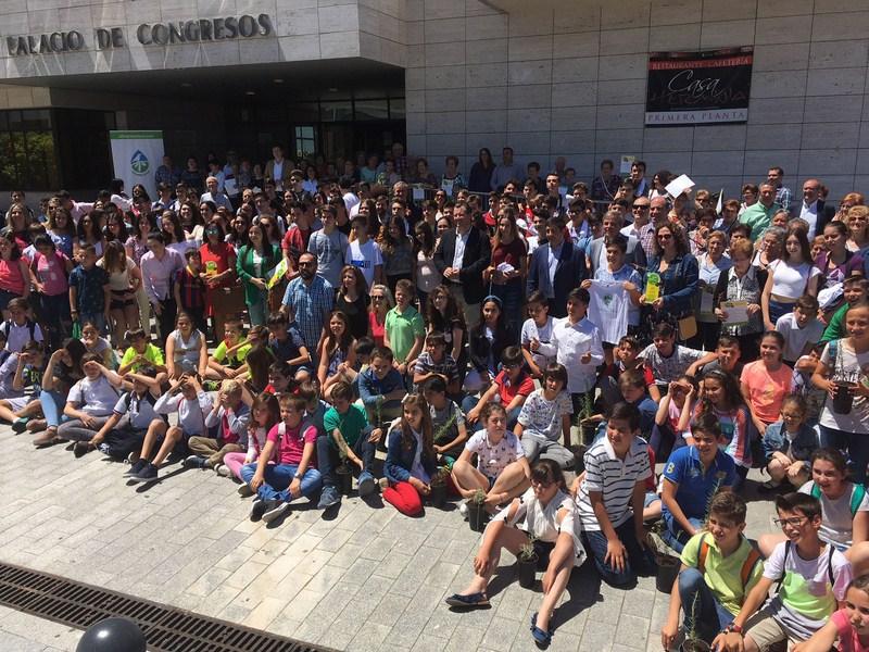 El Palacio de Congresos de Jaén acoge un año más los XIX Premios de Medioambiente que organiza la Di