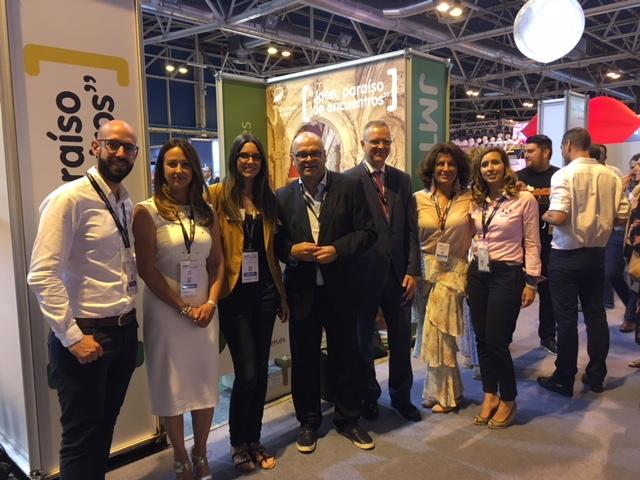 Diputación promociona la provincia de Jaén como destino idóneo para encuentros y congresos en la fer