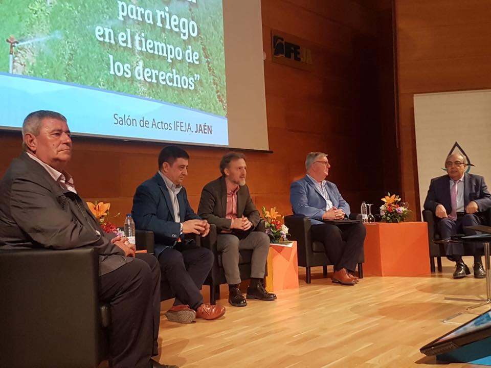 Gran éxito de la puesta de largo de la Asociación de Regantes Andaluza (ASARE), que ha congregado en