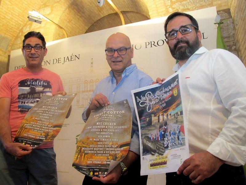 Baños de la Encina se convertirá en un referente turístico con la Noche Andalusí de la Rosa y el fes