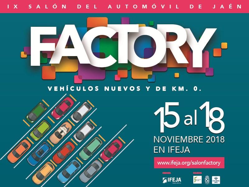 Todas las marcas de la provincia se darán cita en la próxima edición del Factory del Automovil que s