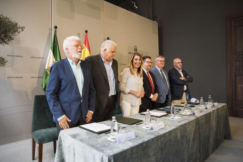 Susana Díaz apuesta por blindar los 1.700 millones que recibe Andalucía de la PAC en el marco 2021-2