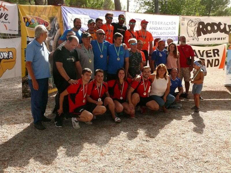 Pozo Alcón acogió el pasado fin de semana la 2ª Copa Andaluz de Descenso de Cañones por Parejas