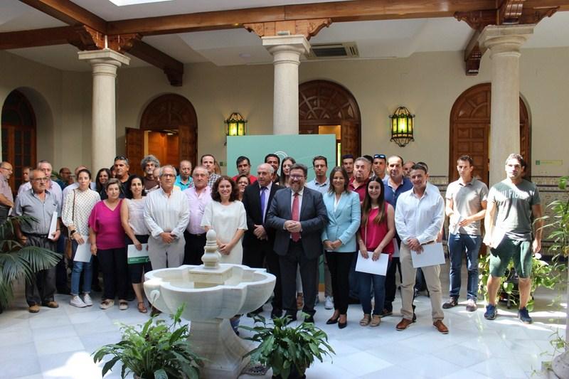 Un total de 438 agricultores y ganaderos de Jaén podrán modernizar sus instalaciones gracias a las a