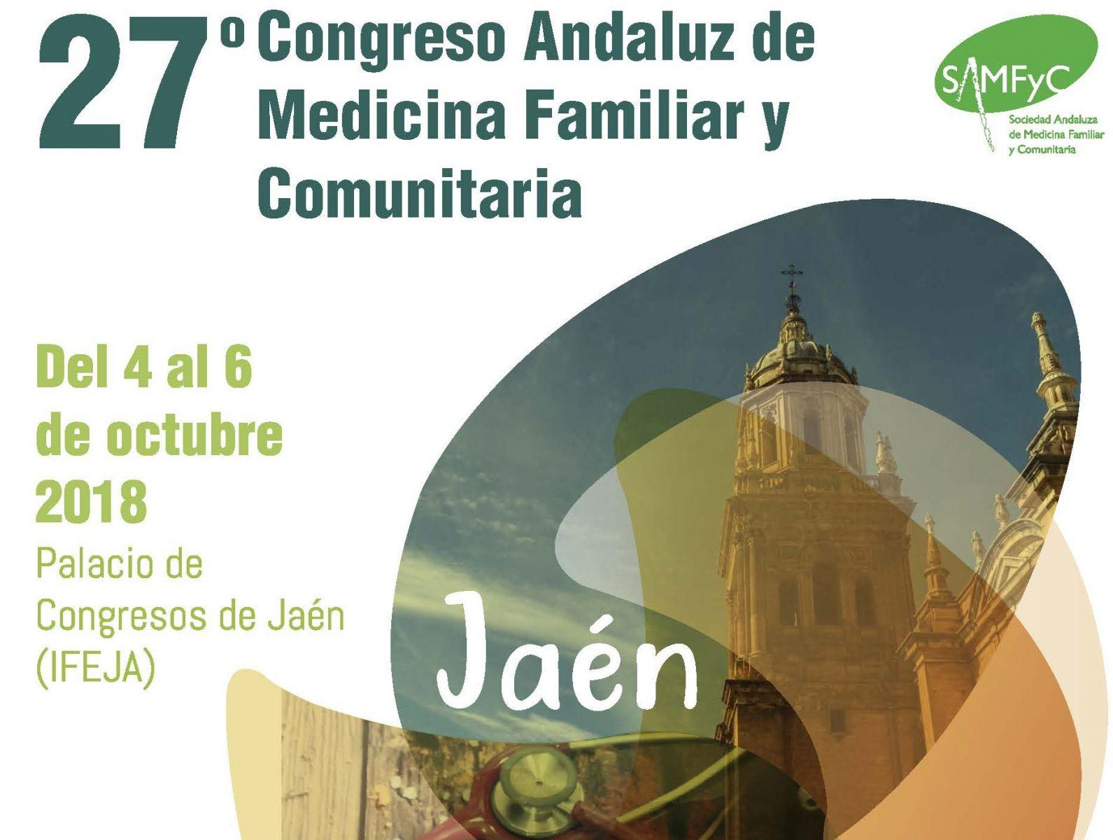 El Palacio de Congresos de Jaén acogerá la 27ª Edición del Congreso Andaluz de Medicina Familiar y C