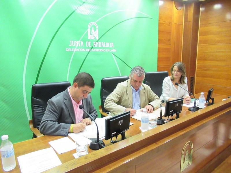 Junta y Diputación acuerdan trabajar conjuntamente para fomentar el empleo y la innovación en Jaén