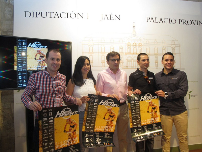 Cerca de 850 ciclistas se darán cita este fin de semana en Valdepeñas de Jaén para el XI Dessafío Si