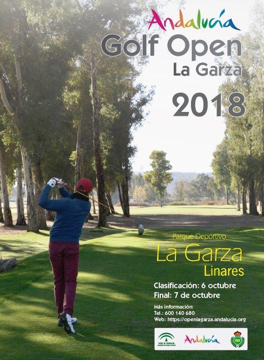 Cerca de 100 jugadores participarán en la segunda edición del Andalucía Open Golf La Garza en Linare