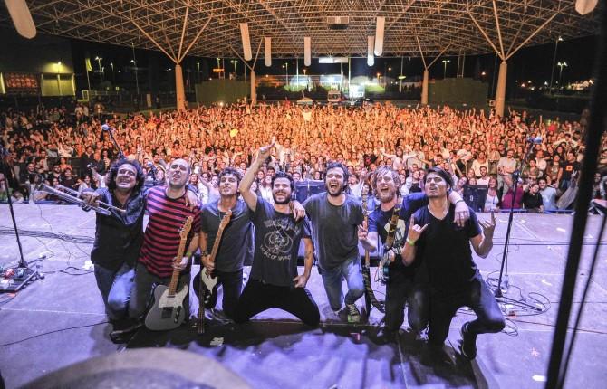 """Gran éxito del concierto que el grupo """"Taburete"""" ofreció en IFEJA el pasado 12 de octubre"""