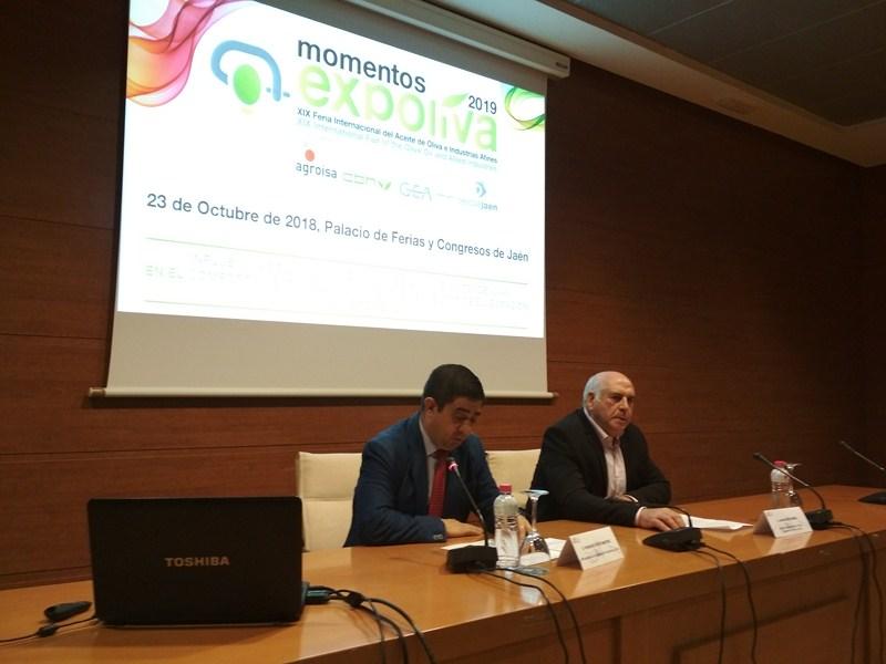 El presidente de IFEJA, Francisco Reyes, inaugura el primer Diálogo Expoliva 2019, centrado en la in