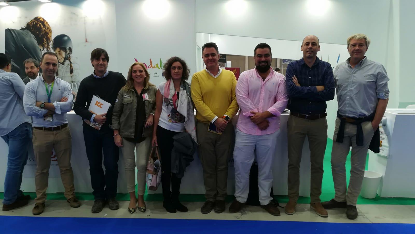 Hornachuelos presenta en la Feria Internacional de Turismo de Jaén el parque multiaventura más compl