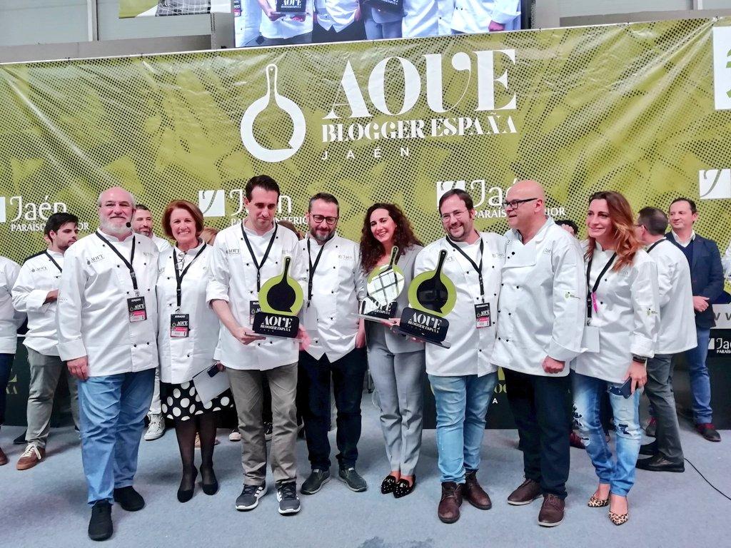 Fernando Romero, de Recetas que funcionan, gana el concurso AOVE Blogger 2018 de Diputación y Jaén G